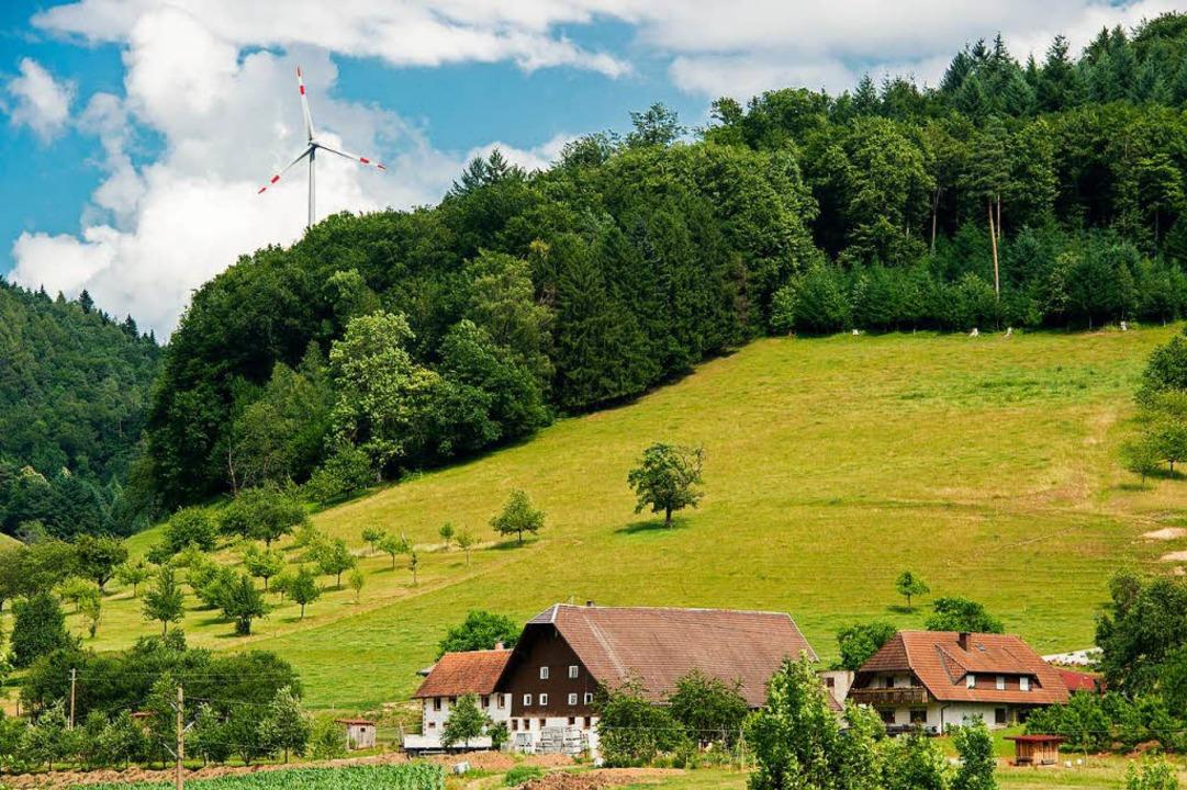 Die Windkraft ist in Freiamt ganz nah,...eisend in Sachen erneuerbare Energien.  | Foto: Daniel Schoenen