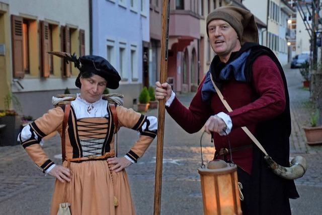 Mit dem Türmer durch die Kastelburg und mit des Torwächters Weib durch die Waldkircher Altstadt