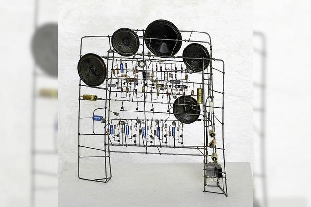 Peter Vogels Musikkunst in Freiburg