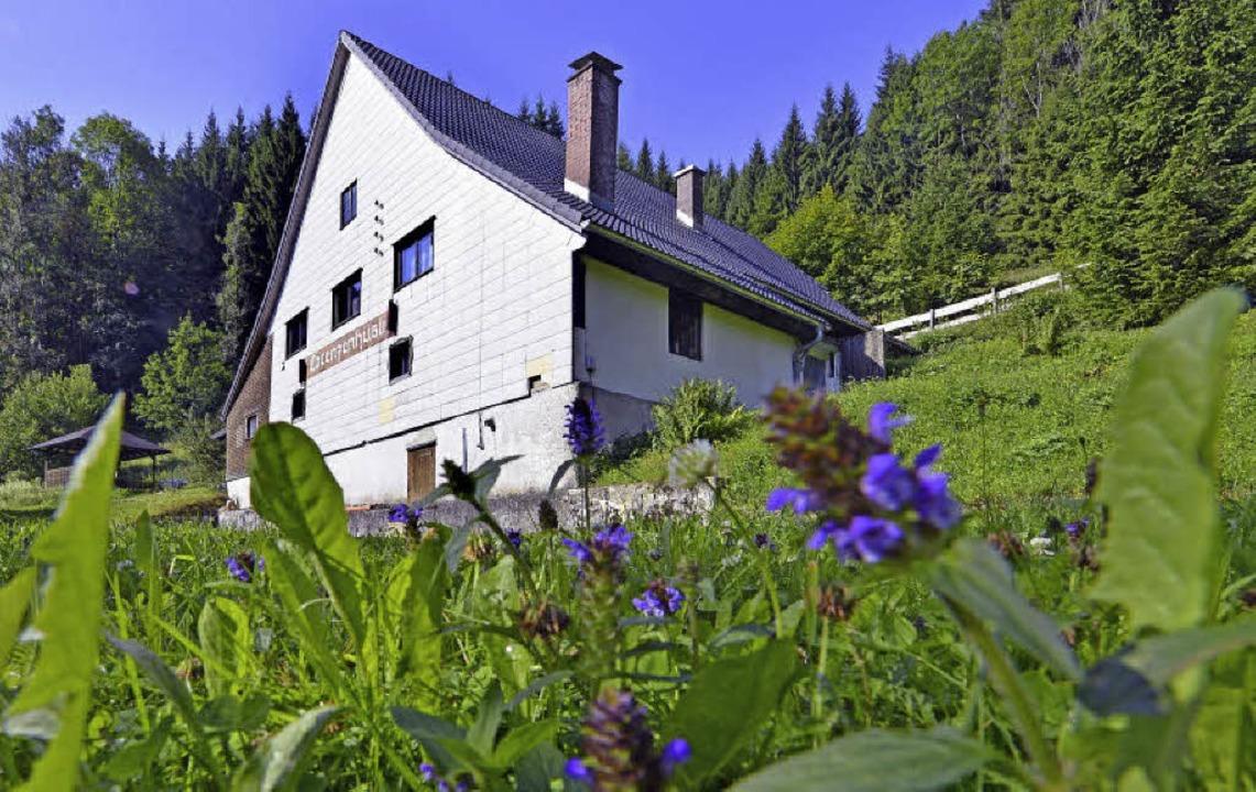 Weit weg von der See, aber immerhin na...t das Vereinsheim der Waldseematrosen.  | Foto: Michael Bamberger