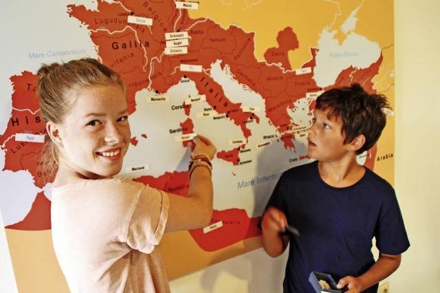 Römervilla wird noch familienfreundlicher