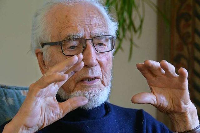 Warum Polit-Urgestein Erhard Eppler Konrad Adenauer ablösen wollte
