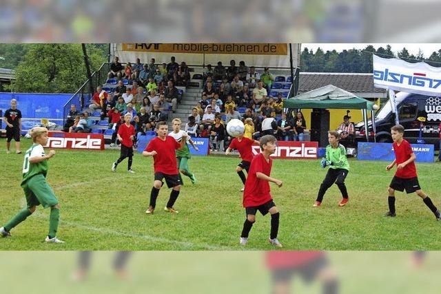 Sportverein feiert mit Jugendcup