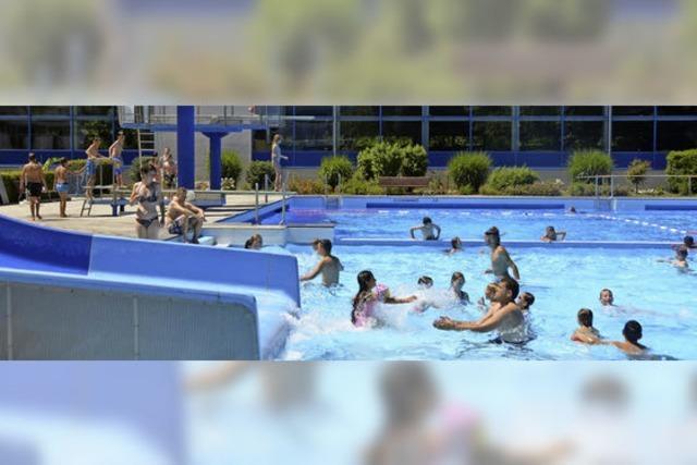 Freibad verzeichnet viele Besucher