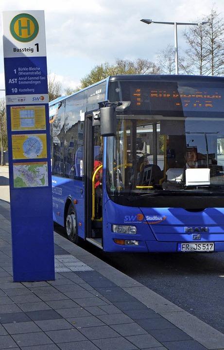 Den Linienverkehr der Emmendinger Stadtbusse übernimmt ab Dezember die SWEG.     Foto: Walser