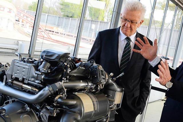 Kretschmann will sich mit Autobauern treffen