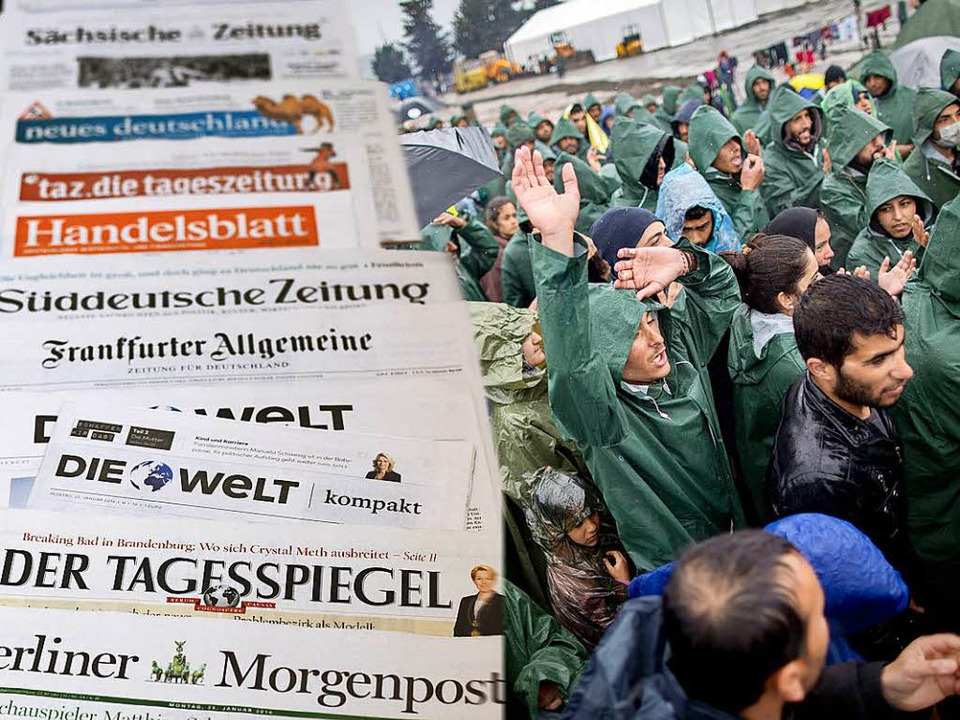 Flüchtlinge seien kaum zu Wort gekomme...enkenträger nicht,  so Michael Haller.  | Foto: Kay Nietfeld