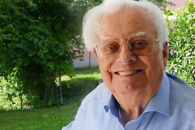 Erhard Richter aus Grenzach wird 90 Jahre alt