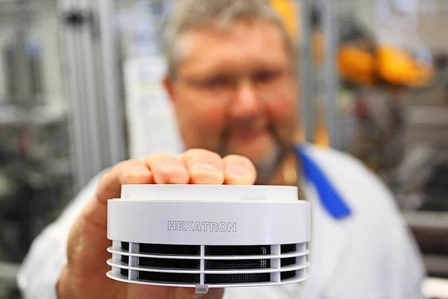 Hekatron baut zweites Werk in Sulzburg und schafft 800 neue Jobs