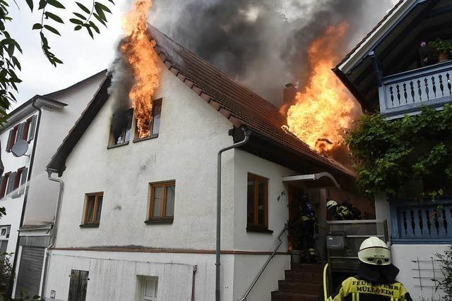 Ursache für Feuer in Müllheimer Innenstadt war technischer Defekt