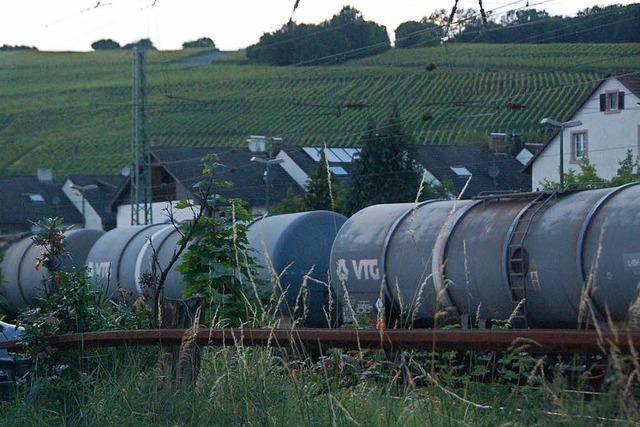 Efringen-Kirchen: Kinder klettern auf stehende Güterzüge und bringen sich in Lebensgefahr