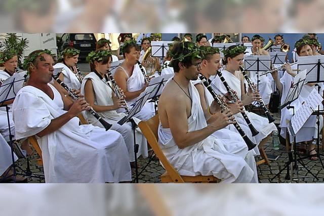 Musikverein lädt zum feiern in Ballrechten-Dottingen ein