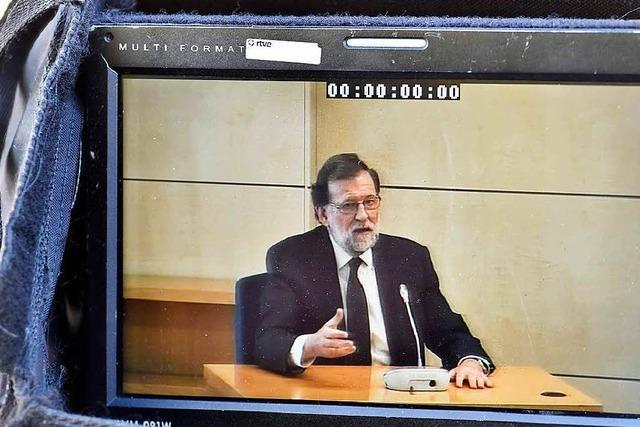 Spaniens Regierungschef sagt als Zeuge aus