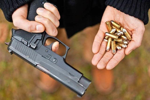 Illegale Waffen können straffrei abgegeben werden