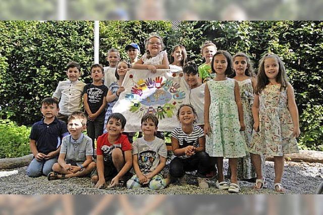 Kunterbunter Abschied vom Kindergarten