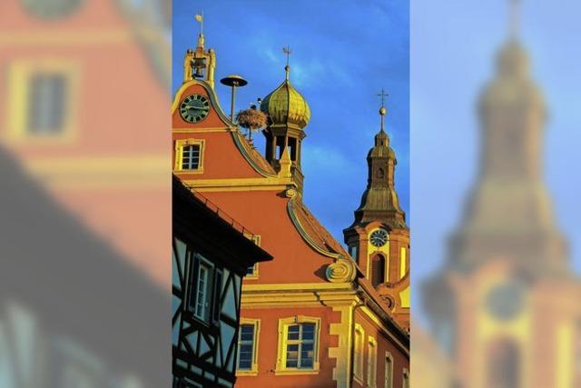 Leuchtende Altstadt