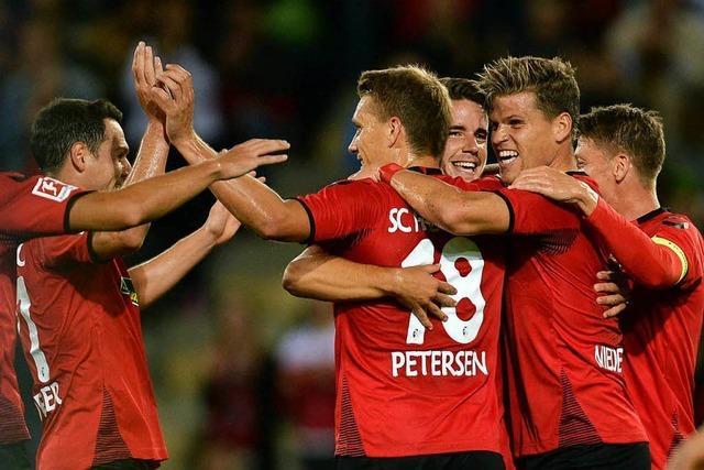 SC Freiburg besiegt NK Domžale im Qualifikationshinspiel mit 1:0