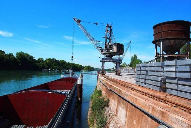 Hafen Rheinfelden: Wo der Rhein für Schiffe zu Ende ist