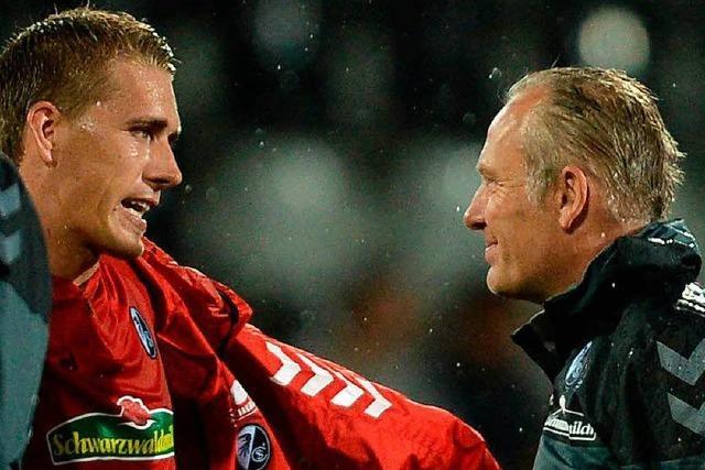 Europa League: Nils Petersen ärgert sich über verschossenen Elfmeter