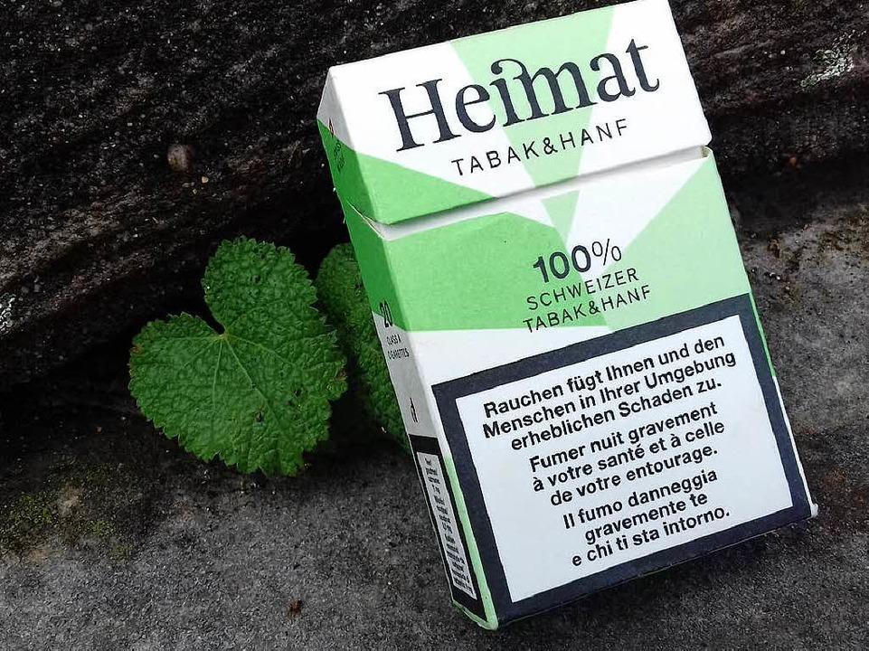 Die neuen Hanfzigaretten aus der Schwe...– mit weniger als 1 Prozent THC.  | Foto: Clara Surges