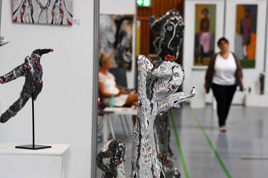 Impressionen von der Kunstmesse und dem Kunsthandwerkermarkt am Wochenende in Endingen (Foto: Christiane Franz)