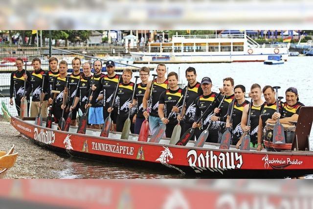 Hochrhein-Paddler aus Bad Säckingen trainieren auf dem Titisee für die Vereinseuropameisterschaft