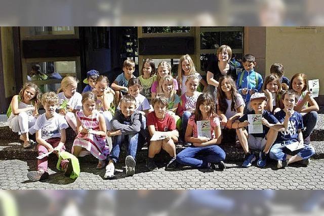 75 Kinder sind nun fit für die Bibliothek