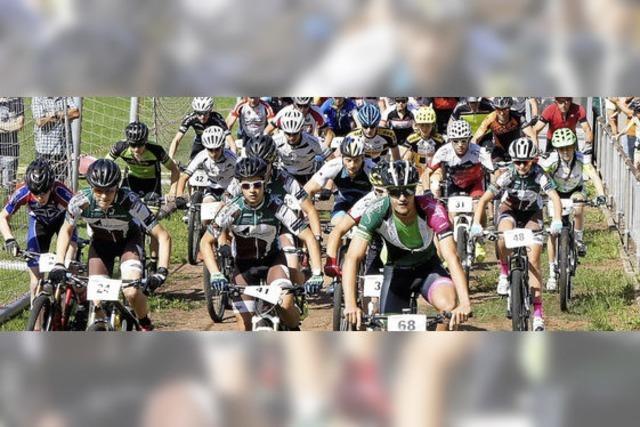 164 Mountainbiker messen sich