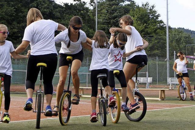 Bunte Mischung an sportlichen Aktivitäten