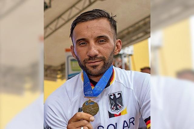 Fumic holt die einzige Medaille fürs deutsche Team