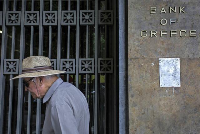 Die griechische Wirtschaft beginnt sich zu erholen