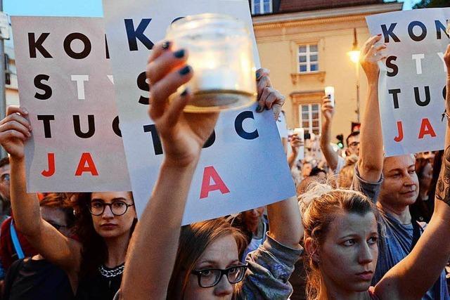 In Polen formiert sich der Widerstand gegen die Regierung