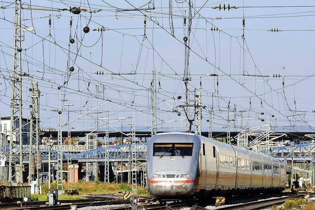 Rheintalstrecke ist wieder frei – Nur noch einzelne Verspätungen