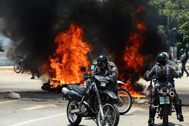 Straßenschlachten und Tote bei Wahl in Venezuela