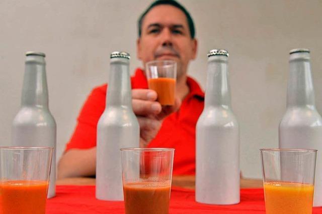 Metzger kreiert Fleisch-Saft zum Trinken