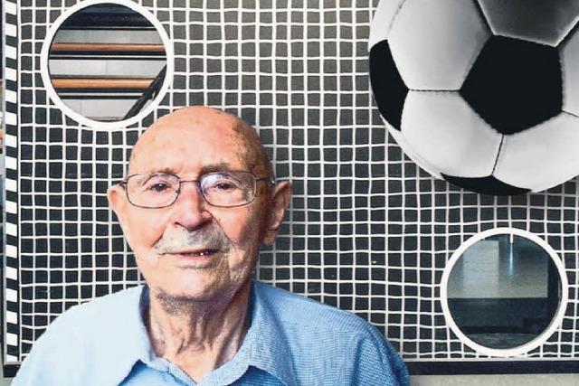 Der Erfinder der ZDF-Torwand kam aus Riegel