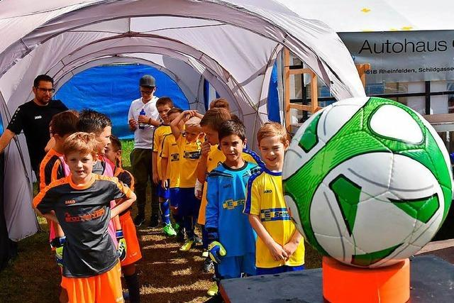 SV Schwörstadt richtet Jugendcup aus
