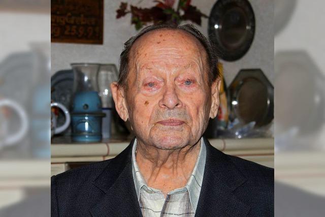 Ehrenbürger Ludwig Greber ist gestorben
