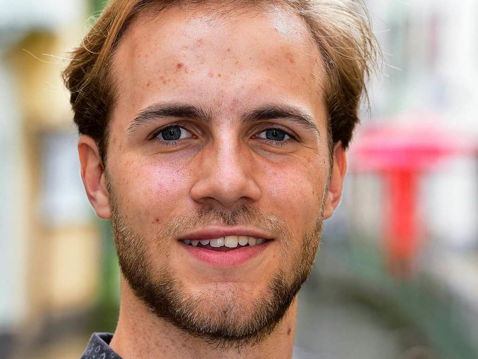 Philipp Stöcks ist einer von vier Vors...des Studierendenrats der Uni Freiburg.  | Foto: Thomas Kunz