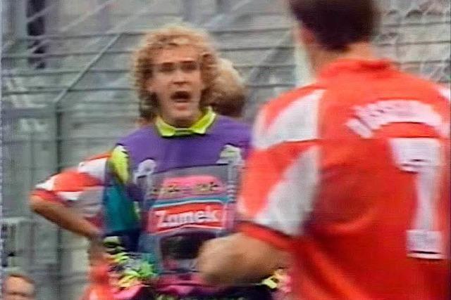 War dieses 90er-Jahre-Trikot die Inspiration für das neue Ausweichtrikot des SC Freiburg?