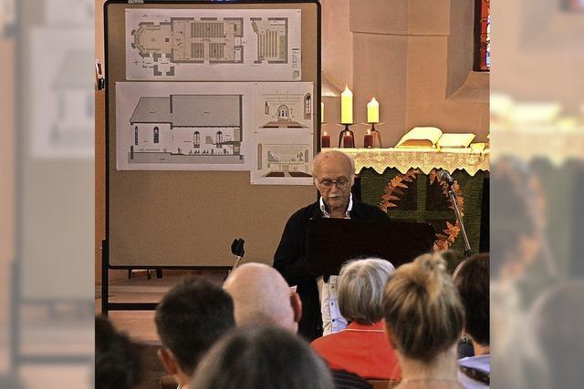 Startschuss für die Renovierung der Bergkirche