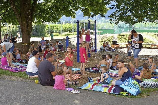 Mit Picknick in die Ferien