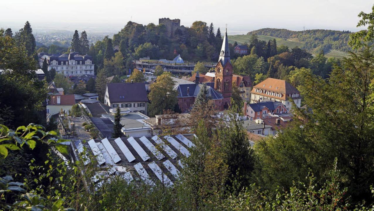 Blick auf Badenweiler    Foto: Silke Hartenstein