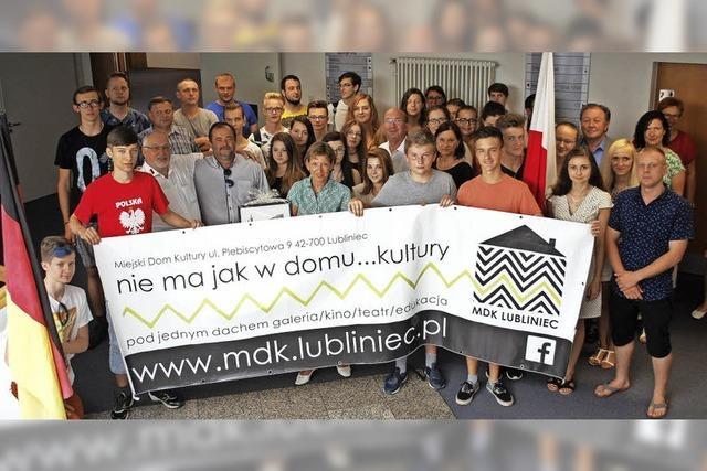 Das Jugendblasorchester Lubliniec ist zu Gast im Landkreis Lörrach