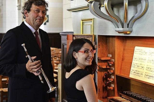 Mit Orgel und Trompete
