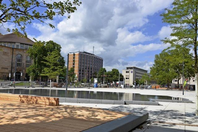 Ein neuer Platz in Freiburgs Mitte