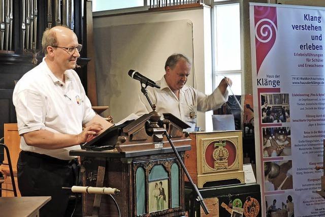 Die Orgelstiftung hat starke Stützen