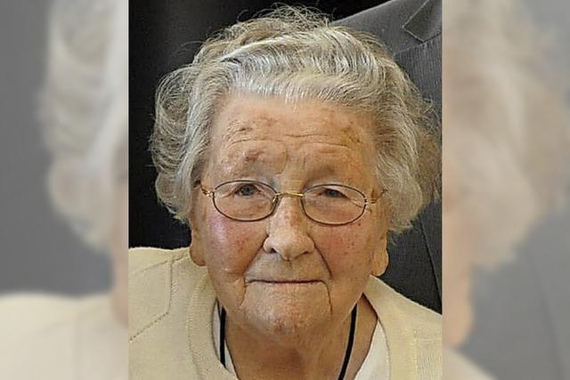 Sie war die älteste Bürgerin