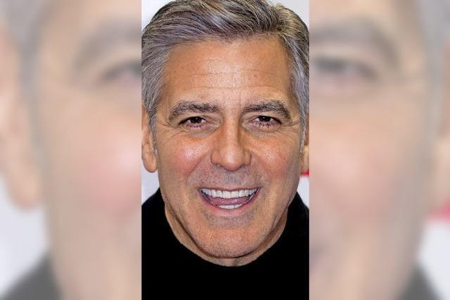 George Clooney will syrische Flüchtlingskinder zur Schulbildung verhelfen