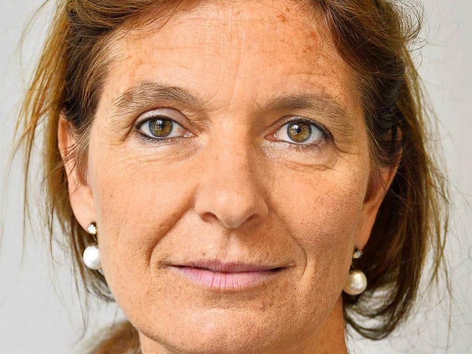 Claudia Winker ist die Leiterin von Frauenhorizonte in Freiburg.  | Foto: Michael Bamberger